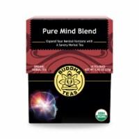 Buddha Teas - Organic Tea - Pure Mind - Case of 6 - 18 Count - Case of 6 - 18 BAG each