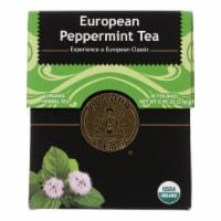Buddha Teas - Organic Tea - European Peppermint - Case of 6 - 18 Bags - Case of 6 - 18 BAG each