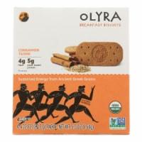Olyra - Biscuit Cinnamon Tahini - Case of 6 - 5.3 OZ - Case of 6 - 5.3 OZ each