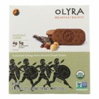 Olyra - Biscuit Hazelnut Carob - Case of 6 - 5.3 OZ - Case of 6 - 5.3 OZ each