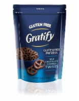 Gratify Gluten Free Pretzel Twists, Chocolate, 5.5 Ounce  (Pack of 12)