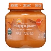 Happy Baby Organics Clearly Crafted Stage 1 Sweet Potato Baby Food