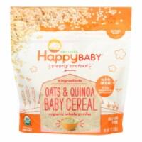 Happy Baby - Cereal Oats Quinoa - Case of 6 - 7 OZ - Case of 6 - 7 OZ each