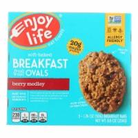Enjoy Life - Bar Breakfast Berry Medley - Case of 6 - 8.8 OZ