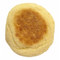 Burry English Muffin Plain, T and S, Forksplit, 2 Ounce -- 72 per case.