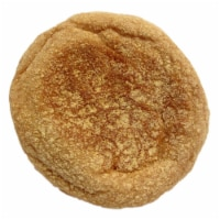 Burry English Muffin 100 Percent Whole Wheat, T and S, Forksplit, 2 Ounce -- 72 per case. - 72-2 OUNCE