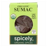 Spicely Organics - Organic Sumac - Case of 6 - 0.45 oz. - Case of 6 - 0.45 OZ each