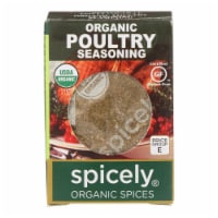 Spicely Organics - Organic Seasoning - Poultry - Case of 6 - 0.35 oz. - Case of 6 - 0.35 OZ each