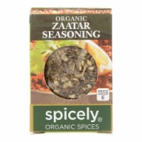 Spicely Organics - Organic Zaatar Seasoning - Case of 6 - 0.35 oz.