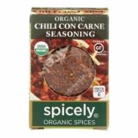 Spicely Organics - Organic Seasoning - Chili Con Carne - Case of 6 - 0.45 oz.