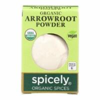 Spicely Organics - Organic Arrowroot - Case of 6 - 0.4 oz. - Case of 6 - 0.4 OZ each