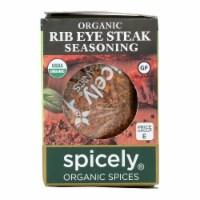Spicely Organics - Organic Steak Seasoning - Case of 6 - 0.6 oz.