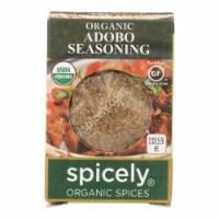 Spicely Organics - Organic Adobo Seasoning - Case of 6 - 0.4 oz. - Case of 6 - 0.4 OZ each