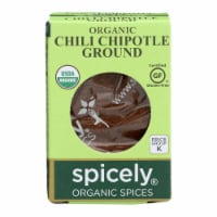 Spicely Organics - Organic Chipotle Chili - Ground - Case of 6 - 0.45 oz. - Case of 6 - 0.45 OZ each