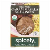 Spicely Organics - Organic Garam Masala Seasoning - Case of 6 - 0.5 oz. - Case of 6 - 0.5 OZ each