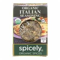 Spicely Organics - Organic Italian Seasoning - Case of 6 - 0.1 oz.
