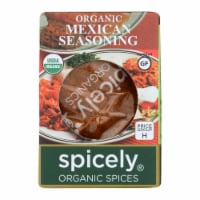 Spicely Organics - Organic Mexican Seasoning - Case of 6 - 0.5 oz. - Case of 6 - 0.5 OZ each