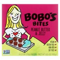 Bobo's Oat Bars - Peanut Butter and Jelly - Gluten Free - Case of 6 - 1.3 oz. - Case of 6 - 5/1.3 OZ each