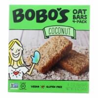 Bobo's Oat Bars - Oat Bar - Coconut - Case of 6 - 4 pk - Case of 6 - 4 PACK each