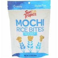 Sun Tropics Mochi Sea Salt Snack Bites Gluten & Dairy Free , 3.5oz (pack of 12)