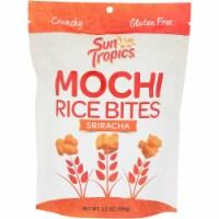 Sun Tropics Mochi Thai Bird Sriracha Snack Bites Gluten & Dairy Free , 3.5oz (pack of 12)