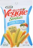 Sensible Portions Garden Veggie Straws Zesty Ranch 1oz (Pack of 8)