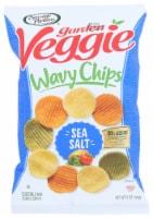 Sensible Portions Garden Veggie Wavy Chips Sea Salt, 5oz (Pack of 12)