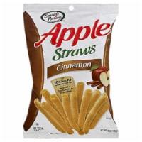 Sensible Portions Cinnamon Apple Straws, 6 OZ (Pack of 12) - 12