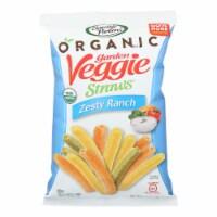 Sensible Portions - Veggie Straws Ranch - Case of 12 - 5 OZ - 5 OZ