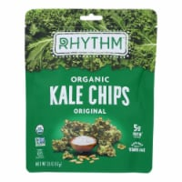 Rhythm Superfoods Kale Chips - Original - Case of 12 - 2 oz. - Case of 12 - 2 OZ each