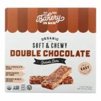 Bakery On Main - Granola Bar Double Chocolate - Case of 6-5/1.2 OZ - Case of 6 - 5/1.2 OZ each