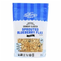 Bakery On Main Organic Happy Granola - Sprouted Blueberry Flax - Case of 6 - 11 oz