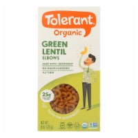 Tolerant Green Lentil Pasta - Elbows - Case of 6 - 8 oz. - Case of 6 - 8 OZ each
