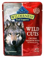 Blue Buffalo  Wilderness Wild Cuts Dog Trail Toppers   Salmon in Gravy