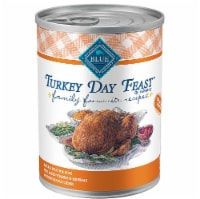 Blue Buffalo  Family Favorite Recipes® Natural Food For Dogs   Turkey Day Feast in Gravy