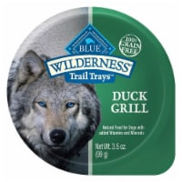 Blue Buffalo  Wilderness Dog Trail Trays    Duck Grill
