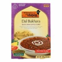 Kitchen Of India Dinner - Black Gram Lentils Curry - Dal Bukhara - 10 oz - case of 6 - Case of 6 - 10 OZ each