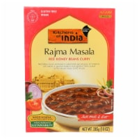 Kitchen Of India Dinner - Red Kidney Beans Curry - Rajma Masala - 10 oz - case of 6 - Case of 6 - 10 OZ each