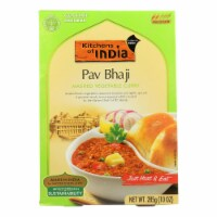 Kitchen Of India Dinner - Mashed Vegetable Curry - Pav Bhaji - 10 oz - case of 6 - Case of 6 - 10 OZ each