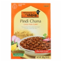 Kitchen Of India Dinner - Chick Peas Curry - Pindi Chana - 10 oz - case of 6 - Case of 6 - 10 OZ each
