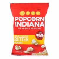 Popcorn Indiana Movie Theater Butter Popcorn Non GMO & Gluten Free , 4.75oz (Pack of 12) - 12