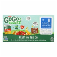 Gogo Squeez - Gogo Applesauce Variety Squeeze - Case of 6 - 12/3.2OZ - Case of 6 - 12/3.2OZ each