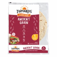 Tumaro'S 8-inch Ancient Grain Carb Wise Wraps - Case of 6 - 8 CT