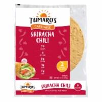 Tumaro'S 8-inch Sriracha Chili Carb Wise Wraps - Case of 6 - 8 CT