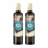 Single Varietal Arbequina Extra Virgin Olive Oil. Pack 2 x 500ml (16.9 fl oz) - 2 pack of 16.9 fl oz