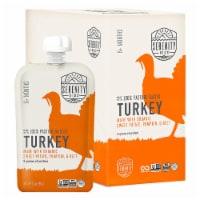 Serenity Kids Llc - Poch Turkey S Pot Pu Bt - Case of 6-3.5 OZ - 6