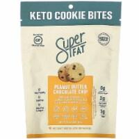SuperFat Keto Cookie Bites Peanut Butter Chocolate Chip Gluten Free 2.25oz Pk6 - 6