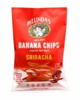 Melinda's Banana Chips Sriracha Gluten Free Non GMO 5 oz (Pack of 15) - 15