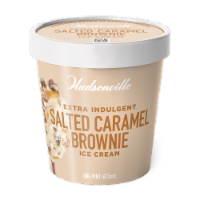 Hudsonville, Salted Caramel Brownie, 16 oz. Pint (8 Count) - 8 Count