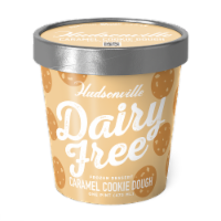 Hudsonville, Dairy Free Caramel Cookie Dough, 16 oz. Pint (8 Count)